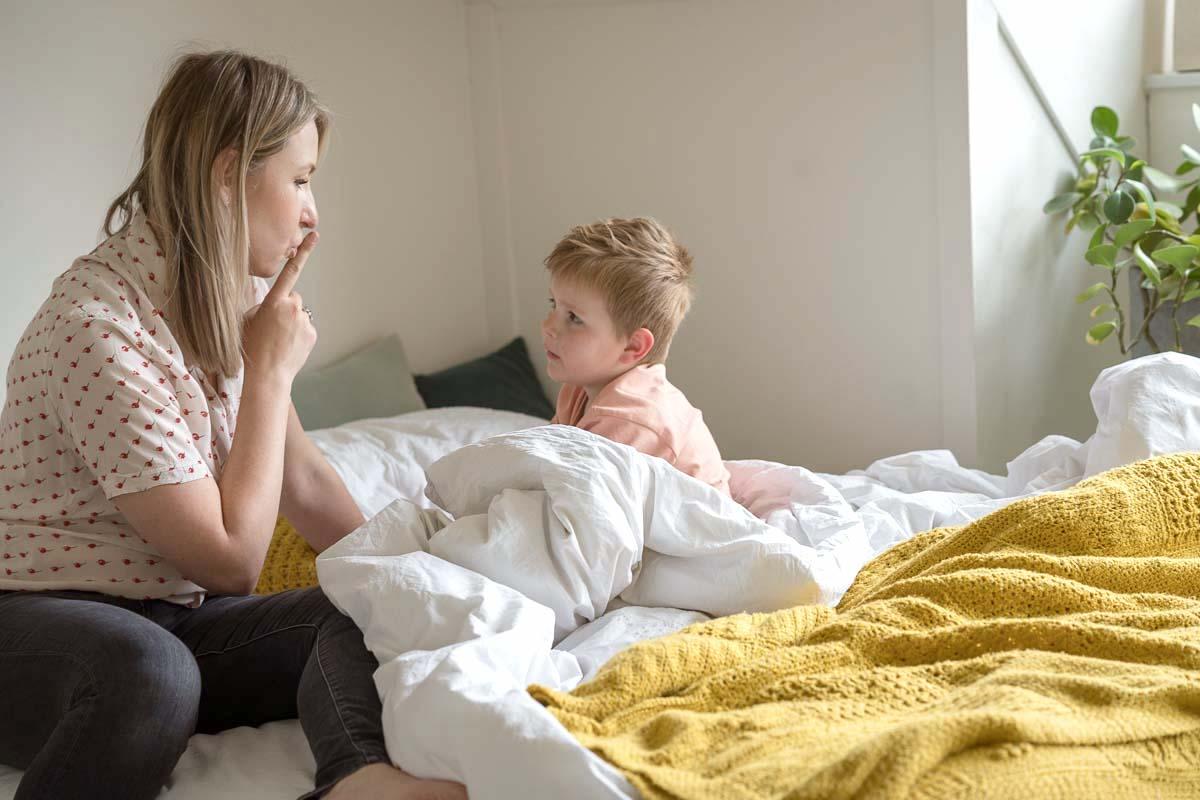 kind wil niet in bed blijven